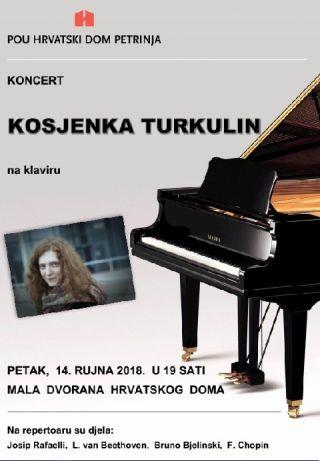 Koncert: Kosjenka Turkulin