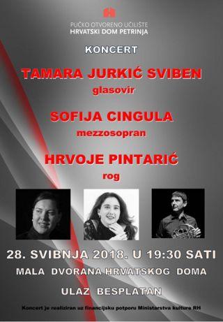 Koncert Tamare Jurkić Sviben