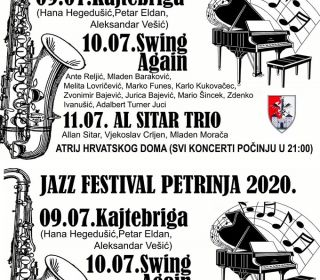 Jazz Festival Petrinja 2020.