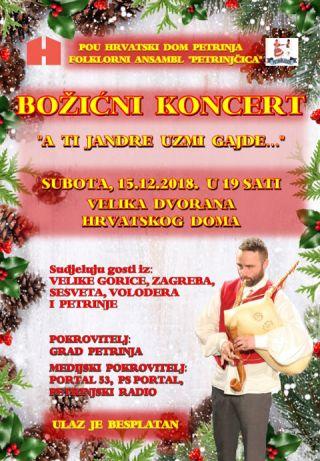 Božićni koncert: A ti Jandre uzmi gajde