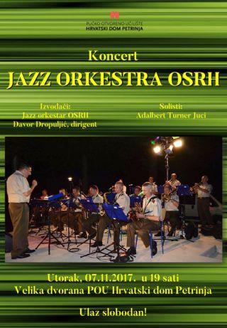 Koncert Jazz orkestra OSRH
